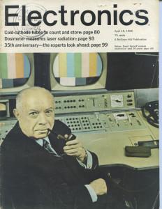 Sampul Majalah Electronics Edisi Moore